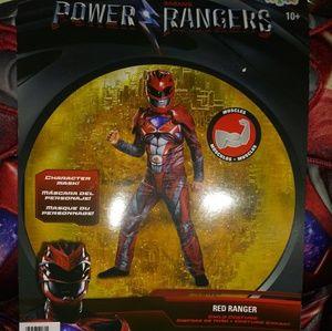 Power Rangers costume. (Red Ranger)